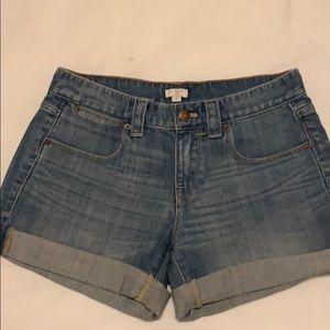 NEW J Crew Factory Denim Shorts